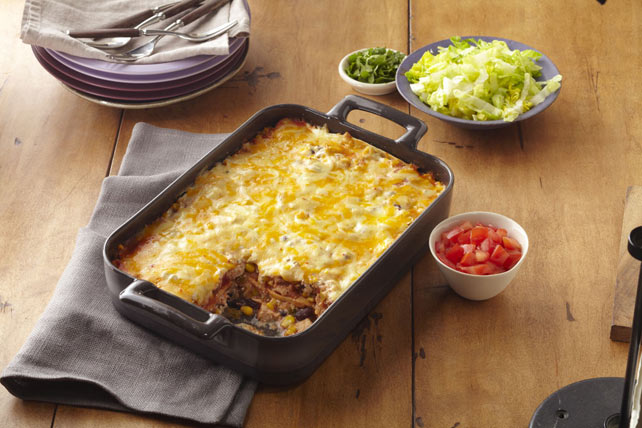 Smart-Choice Roasted Turkey Enchilada Bake Image 1