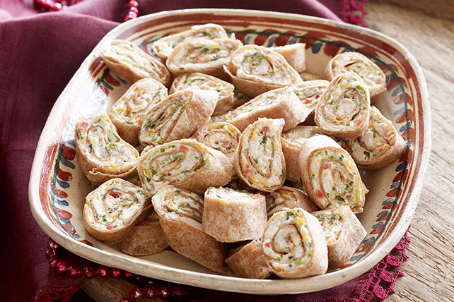 Mexican Chicken Pinwheels Image 1