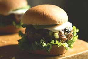 Chipotle Cheddar Black Bean Burgers