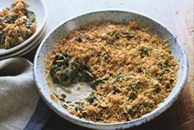 Cheddar Jack Creamed Spinach Image 1