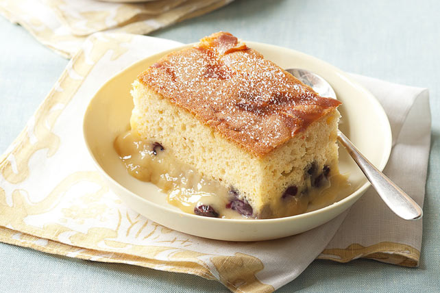 Warm Blueberry-Pudding Cake Image 1