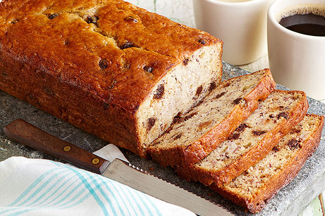 Chocolate Chip-Banana Bread