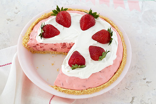 Strawberry Cream Pie Recipe Image 1