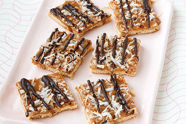 Caramel-Chocolate Cookie Bars Image 1