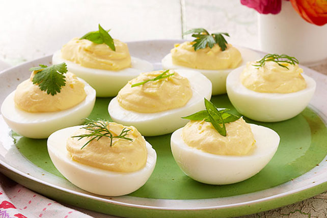 Simply Delicious Deviled Eggs Image 1