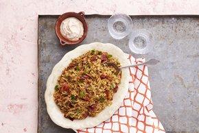 Pilaf de arroz y fideos al chipotle