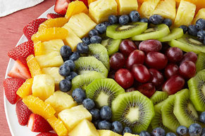 Sunburst Fruit Salad