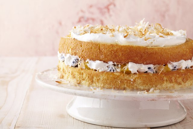 Layered Coconut Tres Leches Cake Image 1