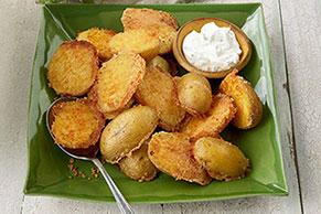 Crispy Parmesan Baked Potatoes