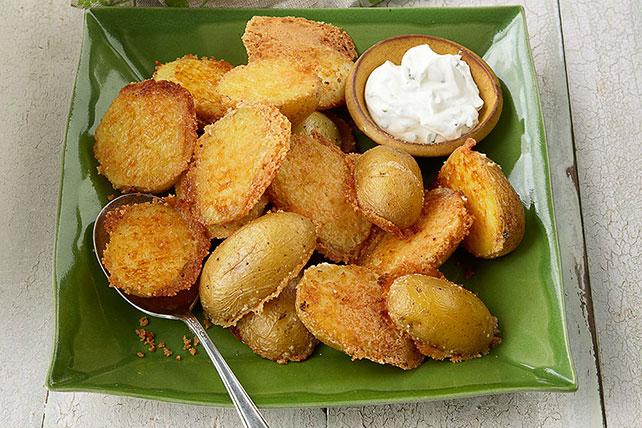 Crispy Parmesan Baked Potatoes Image 1