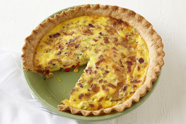 Quiche au fromage et au bacon Image 1