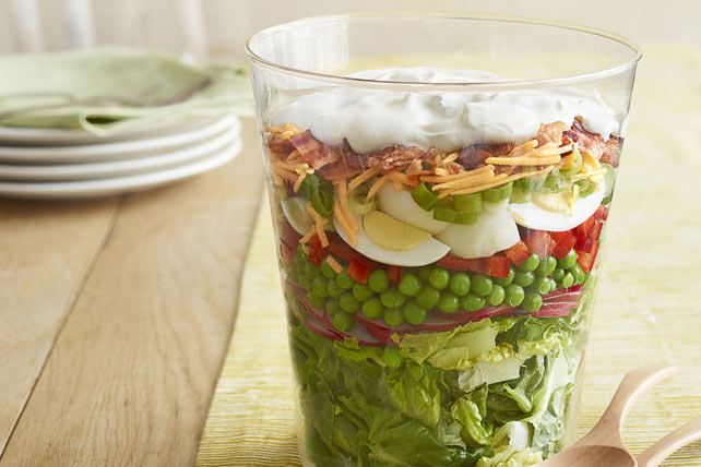 Blue Ribbon Layered Salad Image 1