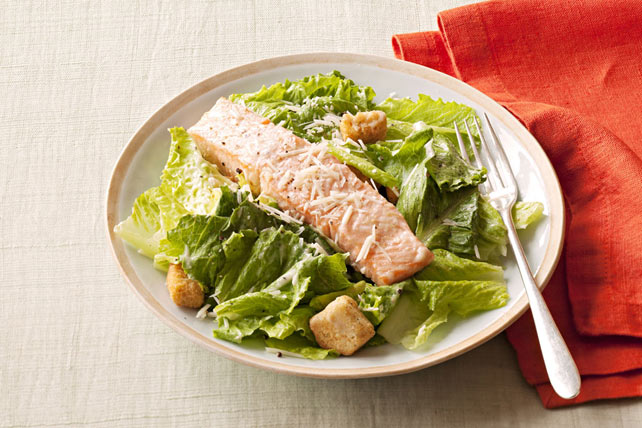 Salmon Caesar Salad Image 1