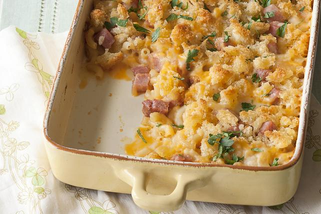 Plat de pâtes et de jambon facile à préparer Image 1