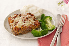 Mom's Bruschetta Meatloaf