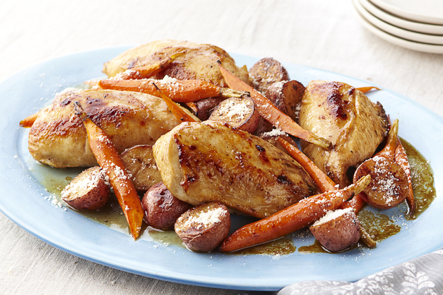 Plat de poulet r ti convivial kraft canada for Plat convivial rapide
