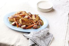 Family-Style Roasted Chicken Bake