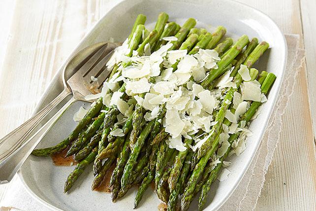 Roasted Parmesan Asparagus Image 1