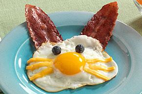 Divertidos huevos de conejito