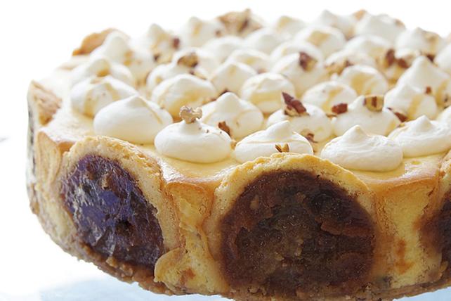 Gâteau au fromage fait de tartelettes Image 1