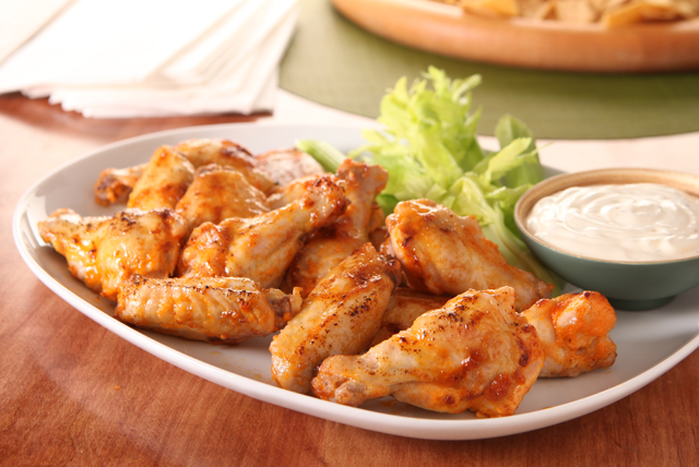 Hot and Spicy Chicken Wings Image 1