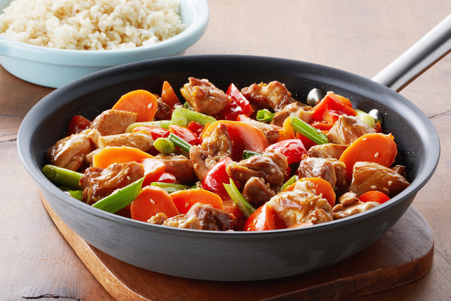 Honey-Sesame Chicken Stir-Fry Recipe - Kraft Canada