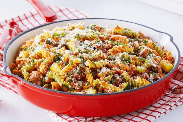 Bolognese-Veggie Pasta Image 1