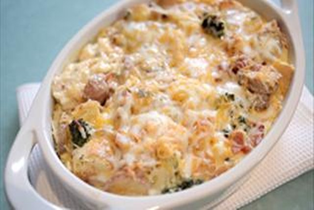 Bacon & Potato Egg Strata Image 1