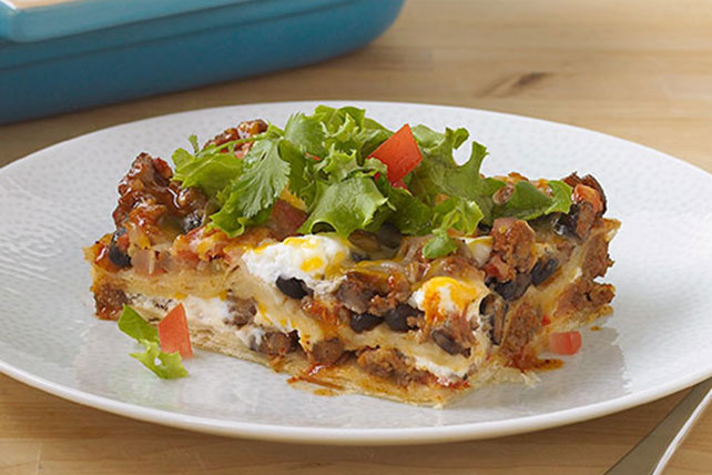 Cheesy Enchilada Bake