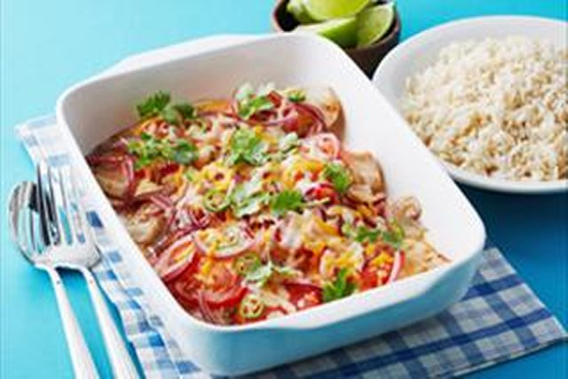 Baked Mexican Fish Image 1
