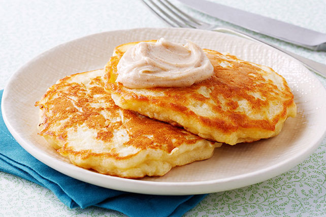 Apple Pancakes with Cinnamon-Sugar Topping Image 1