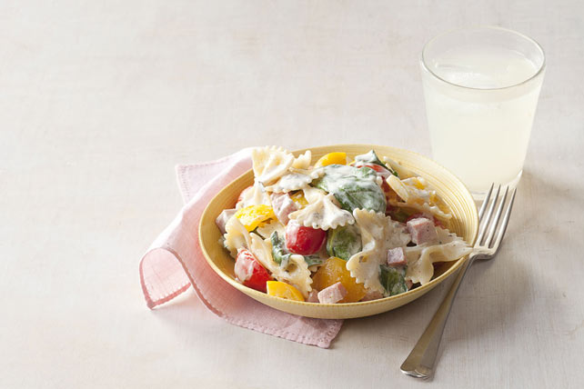 Ham & Vegetable Pasta Toss Image 1