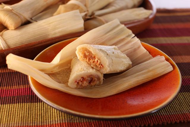 Chicken Tinga Tamales Image 1
