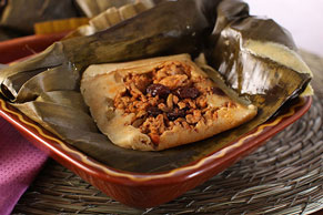 Pork-Picadillo Tamales