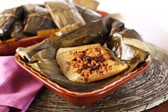 Tamales de picadillo de cerdo Image 1
