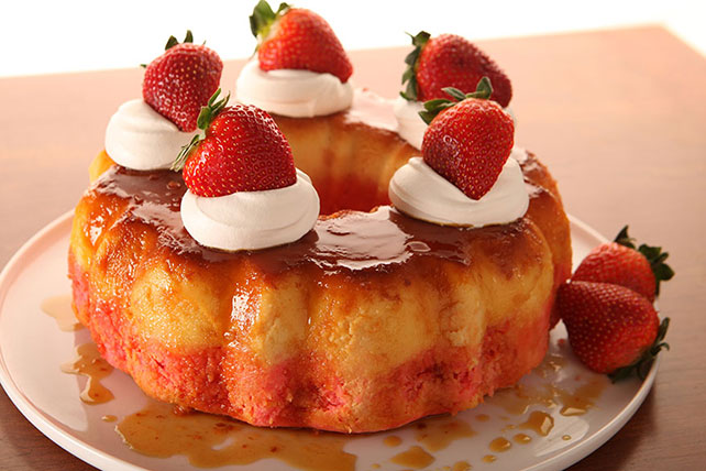 Strawberry Wine Cake Recipe