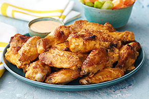 Hot & Spicy Grilled Chicken Wings
