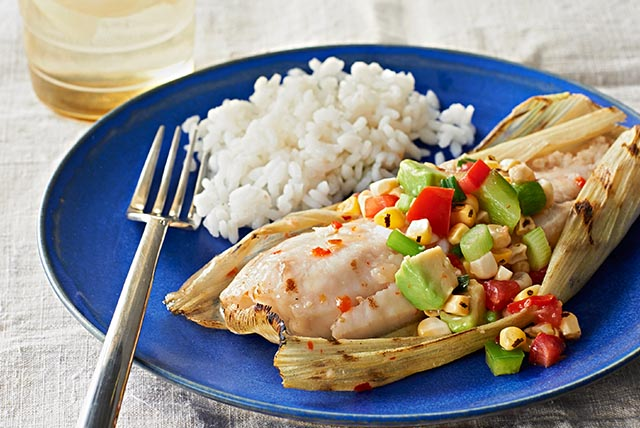 Grilled Tilapia with Corn Salsa Image 1