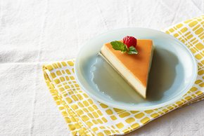 No-Oven Cream Cheese Flan