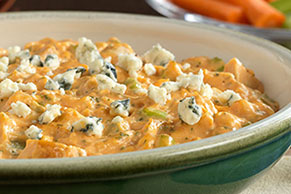 Creamy Cheesy Buffalo Chicken Dip