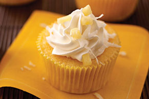 Coconut-Pineapple Cupcake Recipe