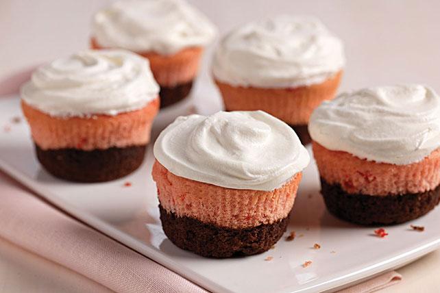 Neapolitan Cupcakes Image 1