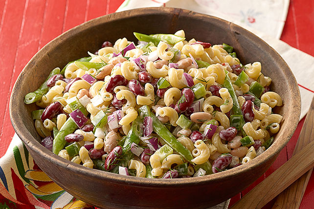 Three Bean Macaroni Salad My Food And Family