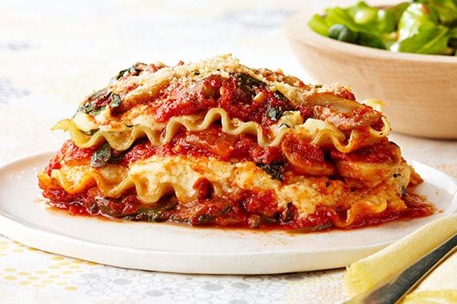 No-Bake Garden-Fresh Lasagna Image 1