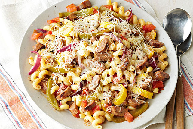 Italian Sausage & Pasta Toss Image 1