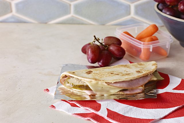 "Quick ""Cuban"" Quesadilla Image 1"