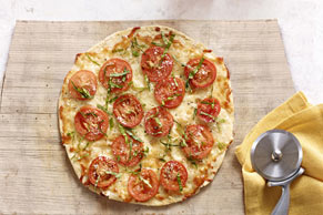 Tortilla Pizza Margherita