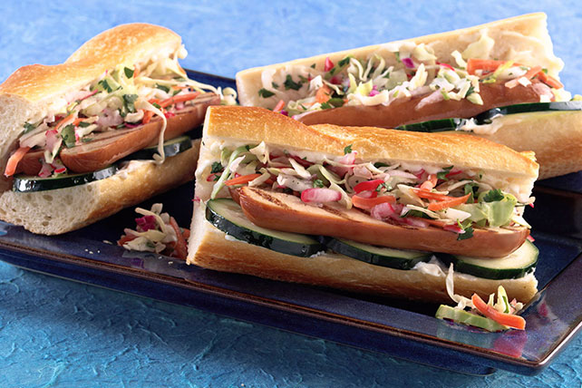 Banh Mi Hot Dogs Image 1