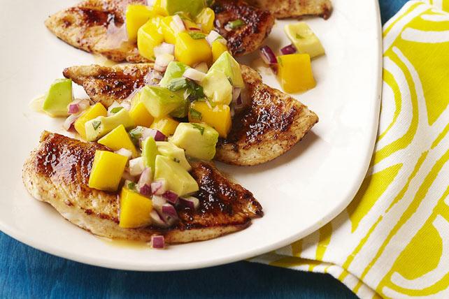 Mango Salsa Chicken Image 1