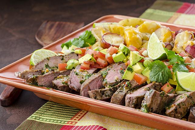 Bifteck de flanc grillé à la cubaine Image 1